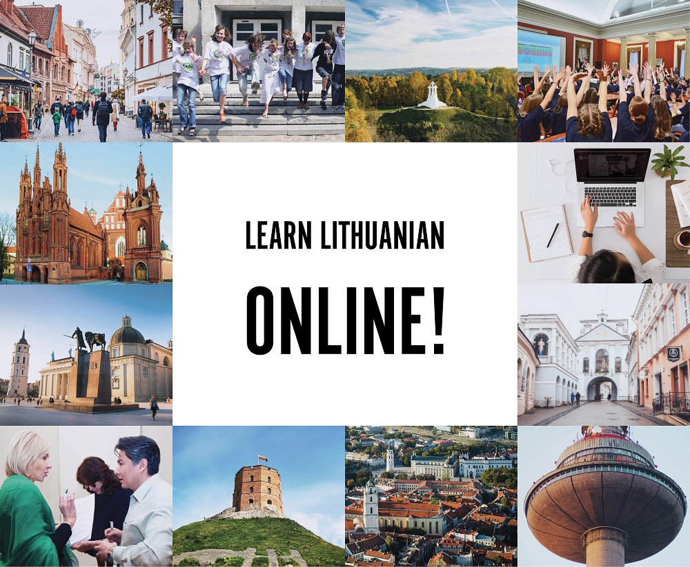 Welcome to Lithuanian language school ONLINE!